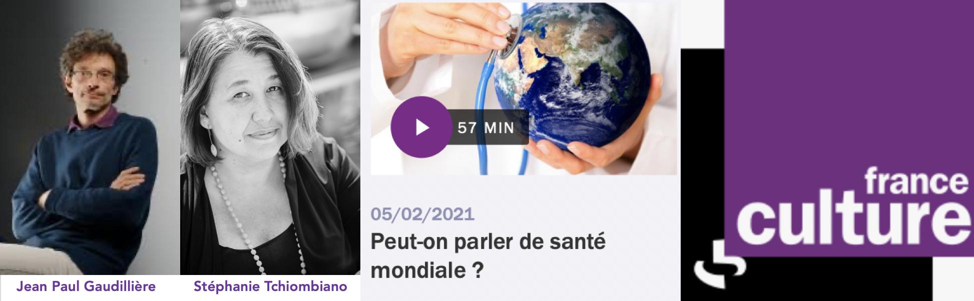 Emission A Présent - France Culture - Stéphanie Tchiombiano